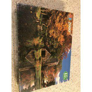 New England Farm MA 4565-3 Milton Bradley 2000 Pc